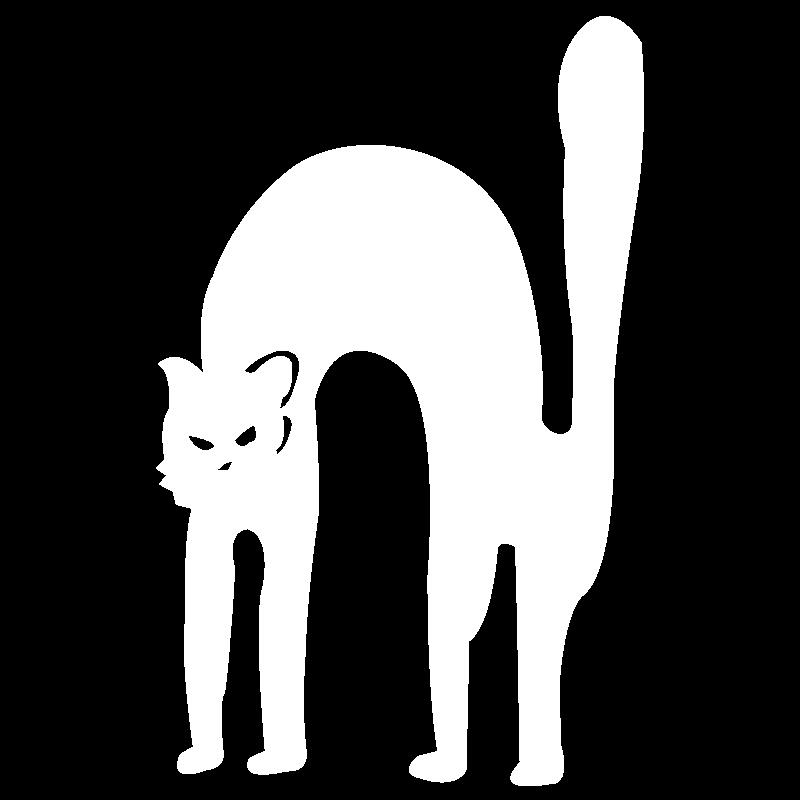 icona gatto nero